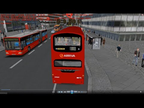 omsi 2 tour (1135) London bus 6 Aldwych-Trafalgar Square (Only From Edgware Road Flyover) @ B7TL