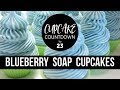 Blueberry Soap Cupcakes | #CUPCAKECOUNTDOWN | Royalty Soaps download for free at mp3prince.com