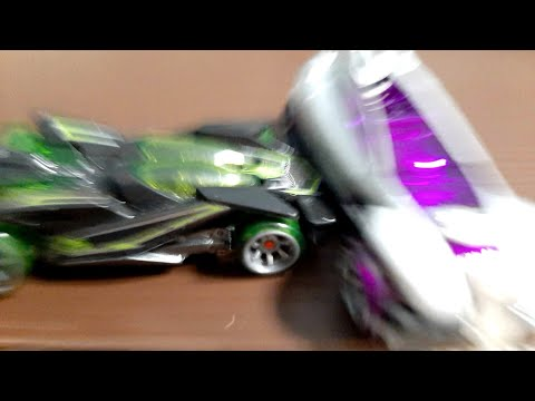 Hot Wheels Acceleracers Desert Realm Stop Motion