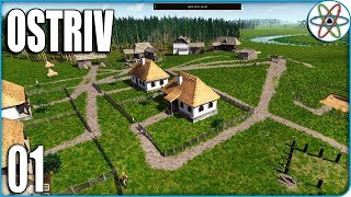 Construtor de Vilas estilo Banished - Ostriv Alpha 2 Ep 01- Gameplay PT BR