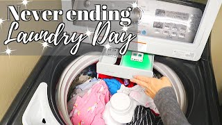 Gambar cover ALL DAY LAUNDRY DAY // CLEANING MOTIVATION // CLEANING MOM