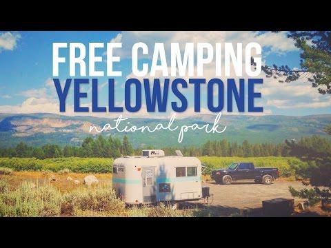 Free Camping at Yellowstone National Park - a Drivin' & Vibin' Travel Vlog