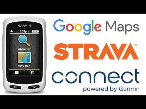 How to plan a cycling route for Garmin - YouTube