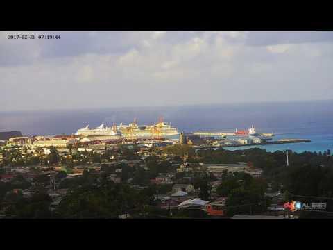 Bridgetown Port (Barbados) - LIVE