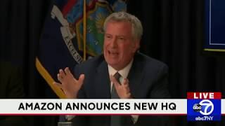 NY officials react to Amazon HQ announcement