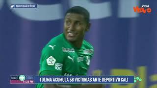 Tolima vs Cali (Goles y Highlights) Liga BetPlay Dimayor 2021-1   Cuartos Ida