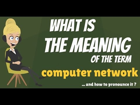 What is COMPUTER NETWORK? What does COMPUTER NETWORK mean? COMPUTER NETWORK meaning