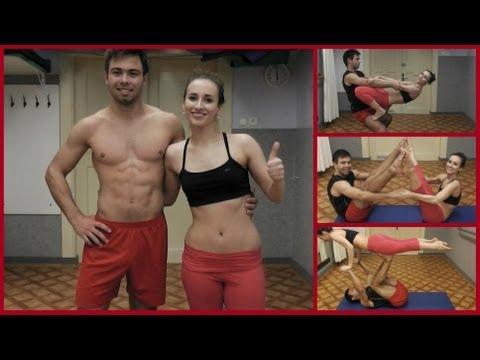 Zábavné cvičení ve dvojici / Fun Partner Exercises