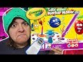 DON'T BUY? 6 REASONS WHY CRAYOLA SILLY Scent MARKER MAKER crayon Kit is NOT worth it SaltEcrafter#35