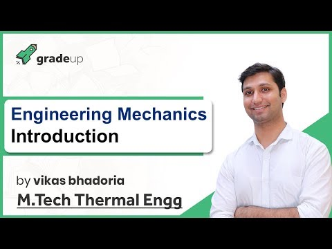 Engineering Mechanics for GATE Lectures   Introduction, Syllabus, Book, Exam Pattern   GATE ME 2019