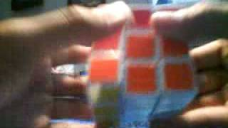 how to make an h pattern on a rubiks cube