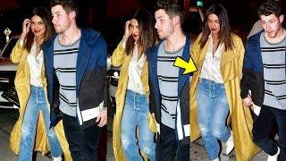 PREGNANT Priyanka Chopra feeling so shy with hubby Nick Jonas on a date night in LA