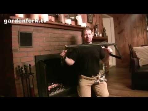 How to grill salmon, fireplace cooking - GardenFork