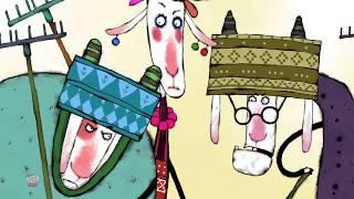 Козья Хатка - Русская сказка | истории для детей | мультфильмы для детей | The Goat's House