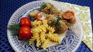 Курица с Луком в Сметанном Соусе / Быстрый Рецепт Приготовления Курицы