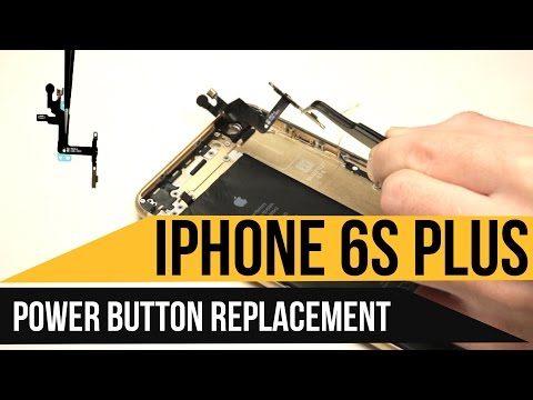 IPhone 6s Plus Power Button Replacement Video Guide