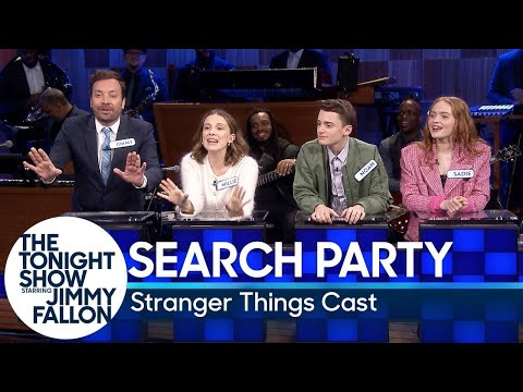 Stranger Things cast face off in Jimmy Fallon's spin on Family Feud