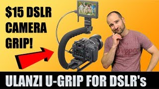 Ulanzi U-Grip DSLR & Smart Phone Stabilizer Review