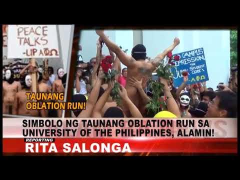 Alam Ba News: Oblation Run sa Pilipinas