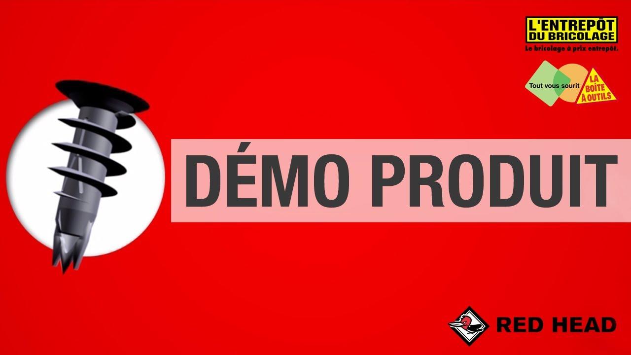 Les Demos Produit La Cheville Autoforeuse Crocovix Par Red Head Youtube
