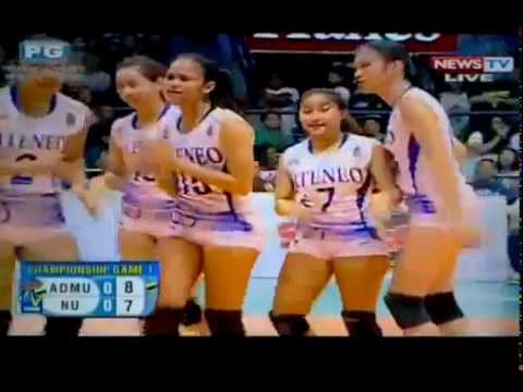 ADMU Lady Eagles vs NU Lady Bulldogs | Finals Game 1 | SVL12
