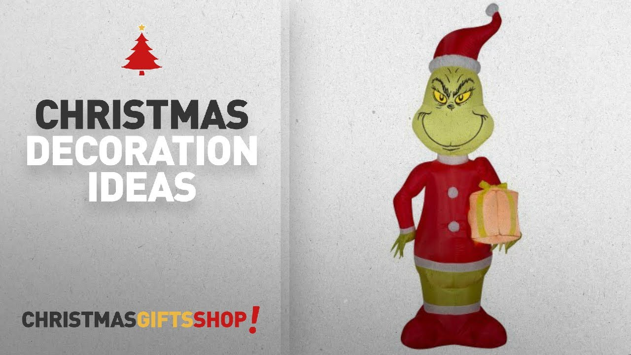 Top Grinch Christmas Decorations: Airblown Holiday Inflatable Dr ...