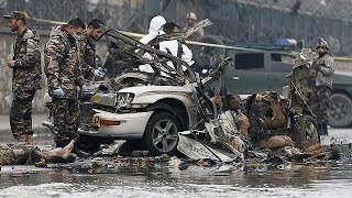 Suicide bombing near Kabul airport