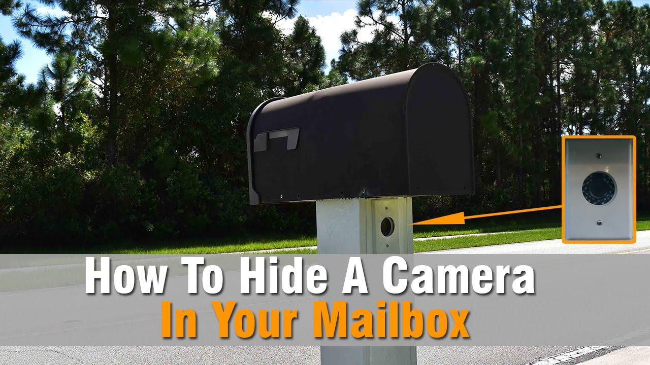 Hikvision Ds 2ce16d1t Ir 2 8mm Hidden Mailbox Camera
