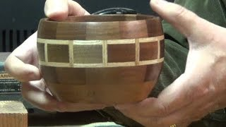 Patterned Segmented Bowl