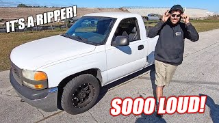 "James FINALLY Gets to Test His FREEDOM Burnout Truck ""White Trash"" (we've got problems)"