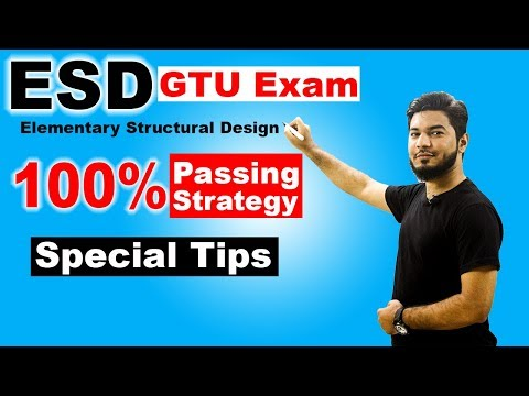 Elementary Structural Design (ESD) GTU | 100% Passing Strategy | Civil Engineering
