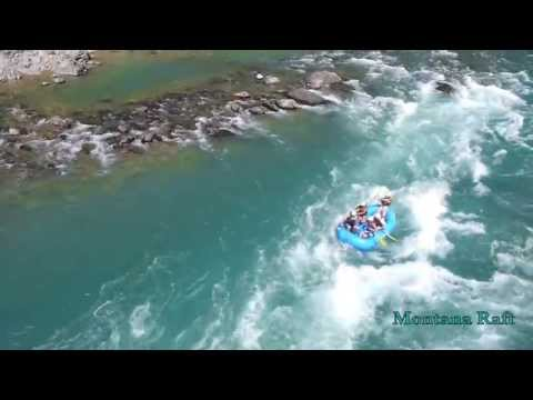 Rafting With Montana Raft And Glacier Guides On The Middle Fork Of The Flathead River