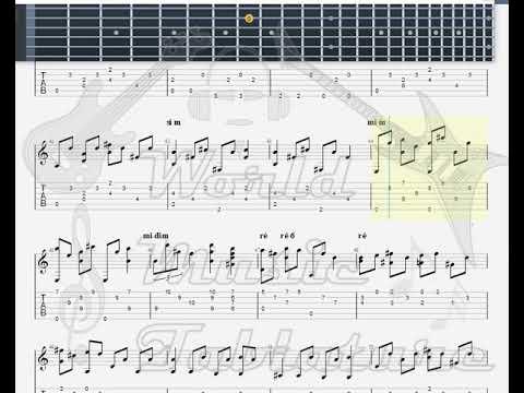 Joplin, Scott   Maple Leaf Rag GUITAR TAB