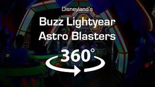 4K 360 Video of Buzz Lightyear Astroblasters (Virtual Reality POV)