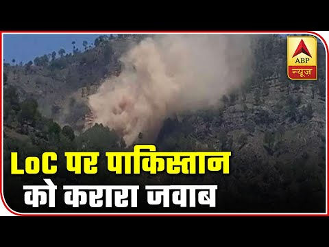 Amid India-China Standoff, Heavy Firing At LoC, 2 Pak Soldiers Killed In Indian Response | ABP News