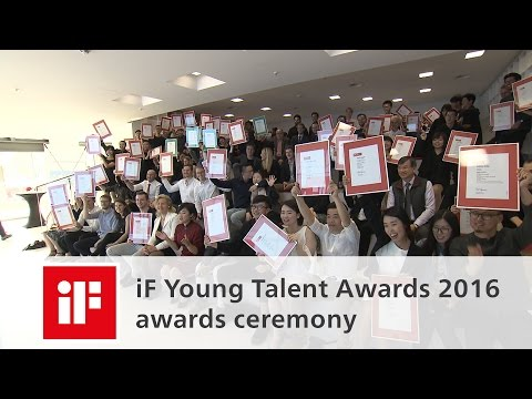 iF Young Talent Awards 2016 - awards ceremony