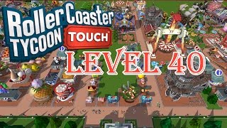 RollerCoaster Tycoon Touch Gameplay - LEVEL 40
