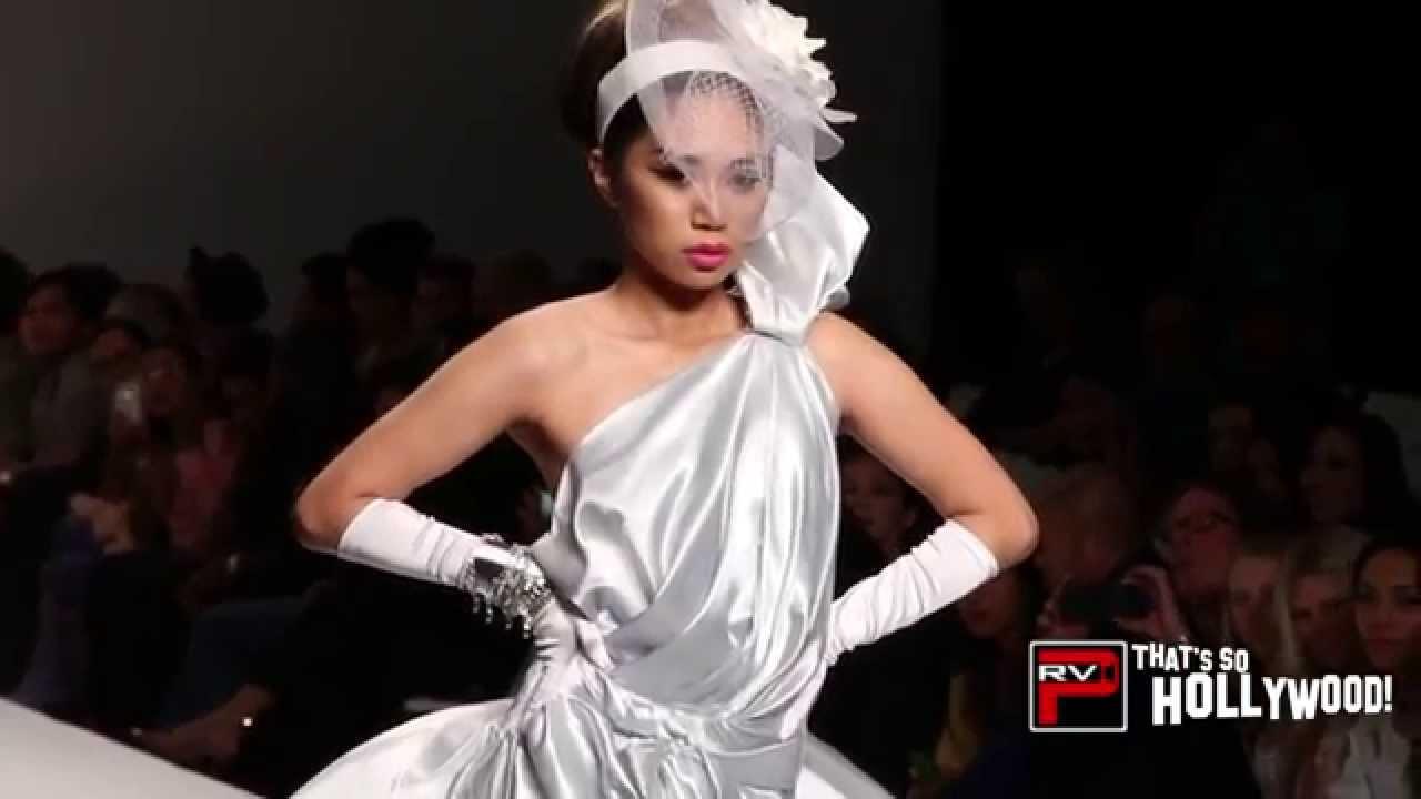 Jessica Sanchez 1st Fashion Runway Walk For Andre Soriano Style Fashion Week La Youtube