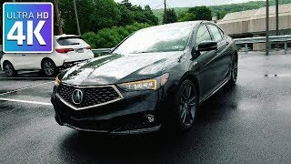 2018 ACURA TLX A-SPEC SH-AWD IN DEPTH WALKAROUND STARTUP EXTERIOR INTERIOR & TECH