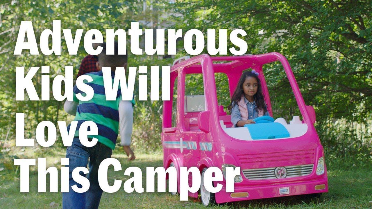 Adventurous Kids Will Love This Camper Youtube Boneka Hello Kitty Wedding14ampquotn A