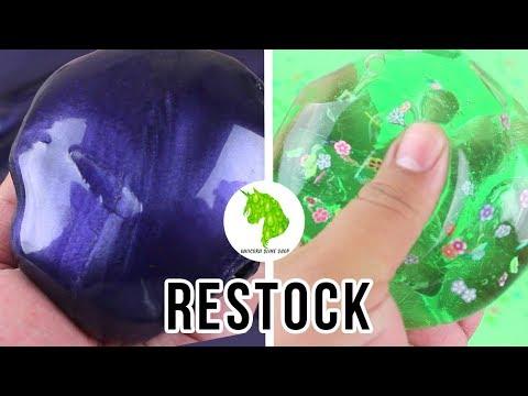 Slime Shop Restock!!! June 8, 2018