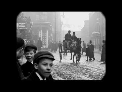 Jan 1902 - Street Scenes in Downtown Halifax, England (VERSION 2)