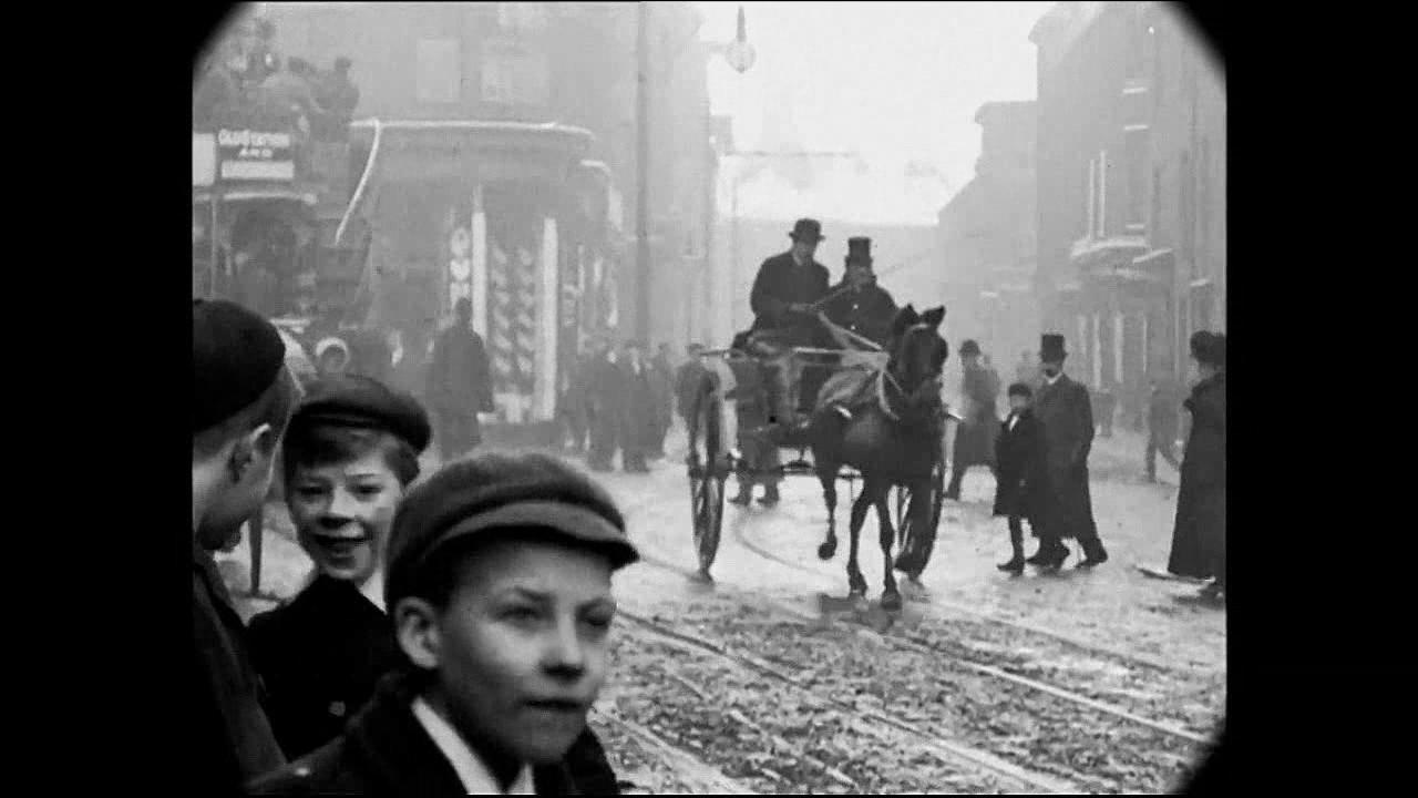Jan 1902 - Street Scenes in Downtown Halifax, England (VERSION 2 ...