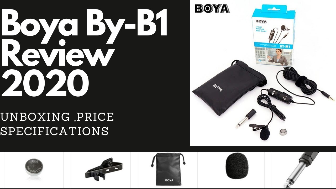 Download Boya By B1 Review 2020 Bangla | Best Lavalier Microphone for Youtube | BOYA BY M1 |