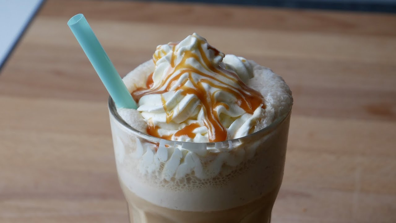 Homemade Caramel Frappuccino Ichkocheheute De