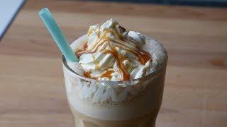 Caramel Frappuccino Selber Machen (Rezept)  Homemade Caramel Frappuccino (Recipe)  ENG SUBS