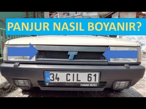 Tofas Panjur Boyama Tum Detaylar Youtube