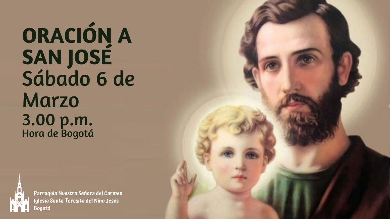 Marzo 6, 2021 - Oración a San José