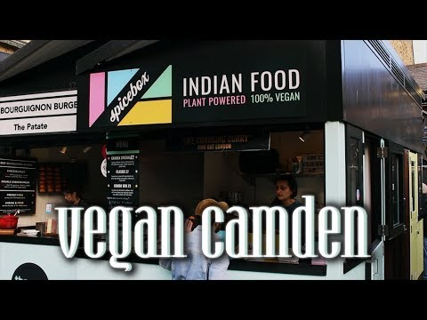 vegan tour of camden market || jason and harun