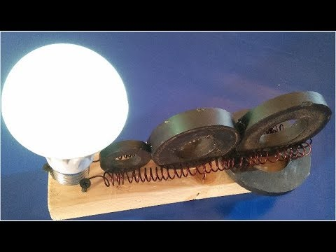 free energy generator using magnet real 1000% free energy new technology 2018 latest electric energy